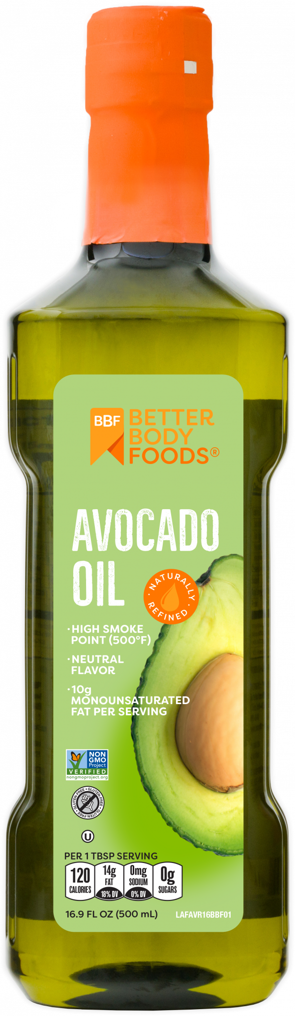 high smoke point avocado oil for cooking | betterbody foods