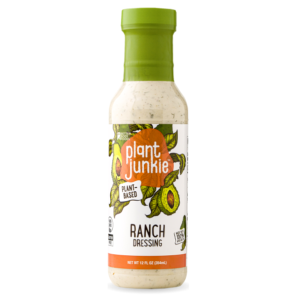 avocado oil ranch dressing | plant junkie | betterbody foods