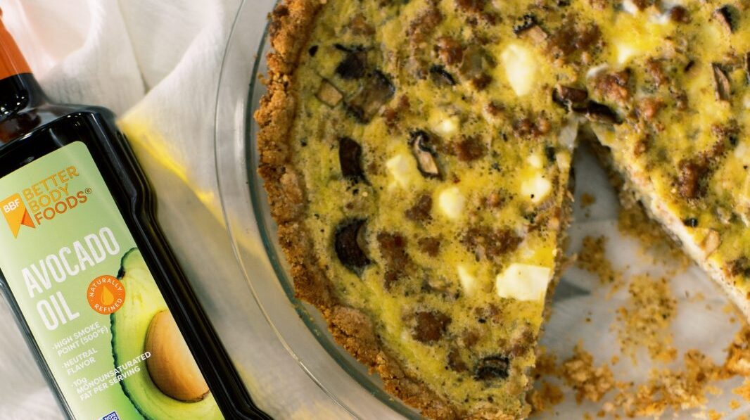 grain free quiche | best avocado oil recipes