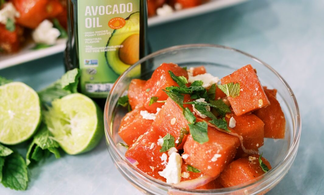 watermelon salad | best avocado oil recipes