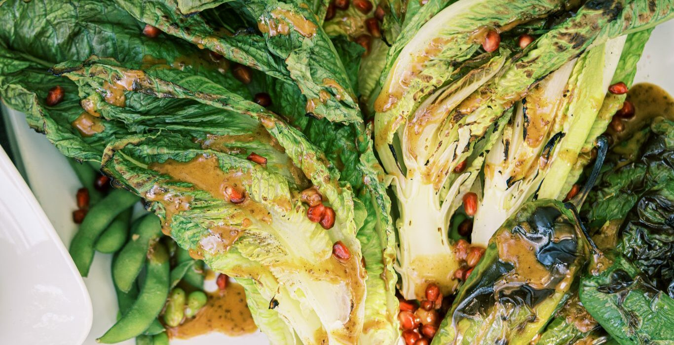 grilled romaine salad | best avocado oil recipes